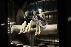 Prada On Bond Street #visualMerchandising #prada