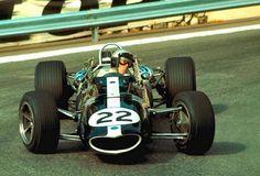 reignofmethanol: reignofmethanol: Richie Ginther, Eagle-Westlake, Monaco, 1967.
