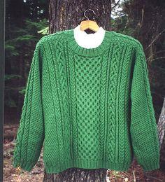 Son of ARAN sweater by Janet Szabo SOAOriginalpic.jpg by JanetKaye, via Flickr
