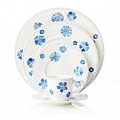 Villeroy & Boch Farmhouse Touch Blue Flowers Dinnerware