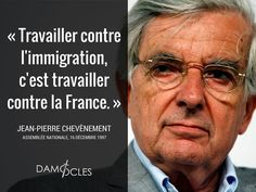 #JeanPierreChevènement #GrandRemplacement #Immigration #migrants #Chevenement #Socialisme #France #Damocles