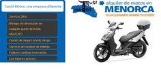 Tandil Motos menorca, También podrá elegir el lugar de entrega y devolución que prefiera en Menorca.  Entregamos su moto en el Aeropuerto de Menorca, Ciutadella o Mahon.