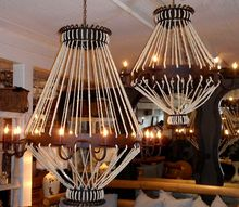 Industrial Rope Chandeliers (2 sizes) at HudsonGoods.com