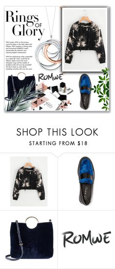 """""""romwe"""" by jas-jas2 ❤ liked on Polyvore featuring Joshua's, LC Lauren Conrad, Tiffany & Co. and H&M"""