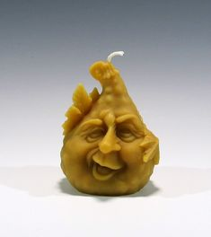 Beeswax Gourd Candle Beeswax Candle Gourd by GardenGateDesign