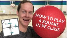 An overview of the rules and some common variations used when playing Four Square. Teaching tips and things to think about when you are teaching 4 Square to students in PE Class. Elementary Physical Education, Physical Education Activities, Pe Activities, Health And Physical Education, Elementary Music, Elementary Schools, Pe Games, Recess Games, Pe Class