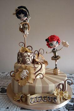 """Torta vincitrice al CDIF edizione romana de 2014, """"que quiero ser un diseñador de la torta"""""""