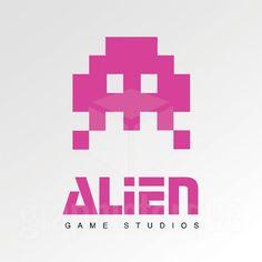 game studio logos alien - Google Search