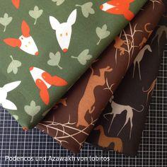 Podenco & Greyhound Fabrics © lobitos   | Design and print your own fabric on www.stoffn.de