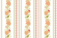 Floral Digital Paper Pack by Sunny_Lion on @creativemarket
