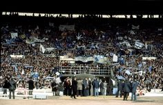 The old wembley. Look Back In Anger, Back In The Day, Football Casuals, Everton Fc, Football Pictures, Those Were The Days, Aston Villa, Casual Looks, Finals