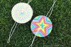 DIY Paper Spinner Circles Craft