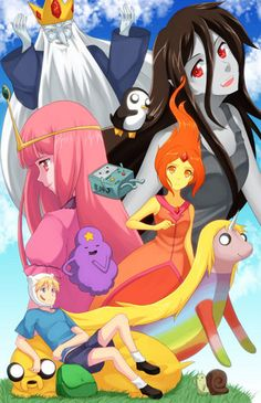 Adventure Time in Anime - adventure-time-with-finn-and-jake Fan Art