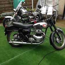 CLASSIC Bsa Motorcycle 500 Shooting Star