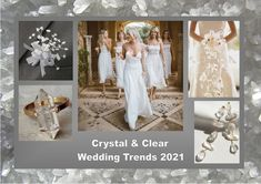 Crystal and clear: According to the fashion industry this will be one of the colors for weddings in 2021. Enjoy! Want to know more about wedding planning... Visit our website - www.ectaint.com Bridesmaid Dresses, Wedding Dresses, Wedding Trends, Industrial Style, Wedding Colors, Wedding Planning, Weddings, Website, Crystals
