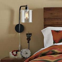 Lens Sconce #westelm  $99 on sale for $79 plus 15% off with university discount - bedside