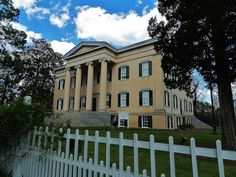 Old Georgia Executive Mansion, Milledgeville, Georgia   Flickr - Photo Sharing! National Historic Landmark (Entry in the 2013 National Historic Landmark Photo Contest by Andrew Wood)