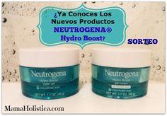 ¿Ya Conoces la Nueva Colección @NEUTROGENA Hydro Boost? #SORTEO #MamaHolistica #giveaway