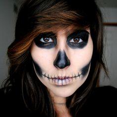 my halloween makeup skull makeup photography by me - Halloween Skeleton Makeup Ideas