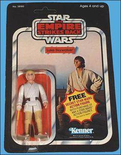 Star Wars Figurine - Luke Skywalker in Tattooine costume; Had that...  #starwars #vintagetoys #toys