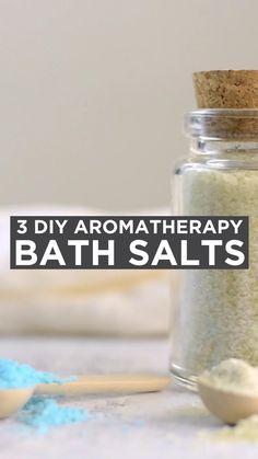 Diy Bath Salts With Essential Oils, Diy Aromatherapy Bath Salts, Homemade Bath Salts, Bath Salts Recipe, Diwali Inspiration, Bath Scrub, Bath Recipes, Body Polish, Bath Products