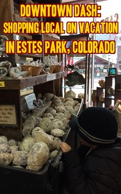Shopping with kids in Estes Park, Colorado - Pure Wander, photo by Shauna Armitage