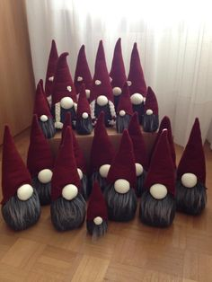 This makes me want to make a tomte nativity.