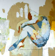 Jylian Gustlin - Contemporary Artist - Figurative Painting - And Then Some