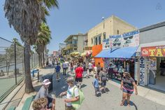 Venice Beach Boardwalk. Beach Boardwalk, Venice Beach, Street View, California, Gallery, Places, Image, The California, Lugares