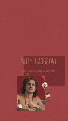photo of billy hargrove, quote from the character written above the photo, red background, stranger things 3 wallpaper Stranger Things Quote, Stranger Things Aesthetic, Stranger Things Season 3, Stranger Things Netflix, Aesthetic Backgrounds, Aesthetic Iphone Wallpaper, Aesthetic Wallpapers, Tumblr Wallpaper, Cool Wallpaper