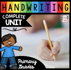 Handwriting Unit - How to Write Letters -. by Keeping My Kinders Busy Kindergarten Curriculum Map, Curriculum Mapping, Free Kindergarten Worksheets, Free Handwriting, Handwriting Worksheets, Handwriting Practice, Improve Handwriting, 4 Year Old Activities, Teaching Activities