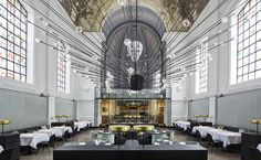 The Jane, a culinary experience in an ancient chapel at Antwerp, Belgium - by Piet Boon