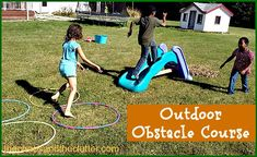 Easy Outdoor Obstacle Course