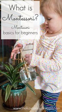 What is Montessori? Here are some Montessori basics and some common Montessori myths.