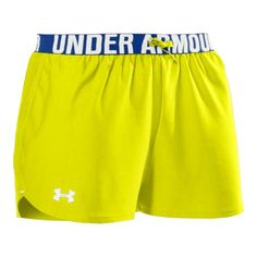 Under Armour Women's Shorts Yellow