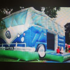 Is this for children or parents? #VW #CamperVan Bouncy Castle