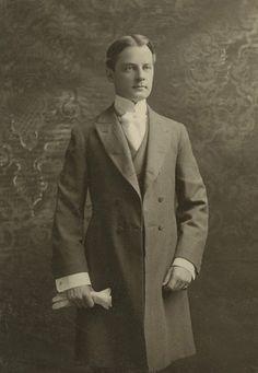 Handsome Victorian gentleman