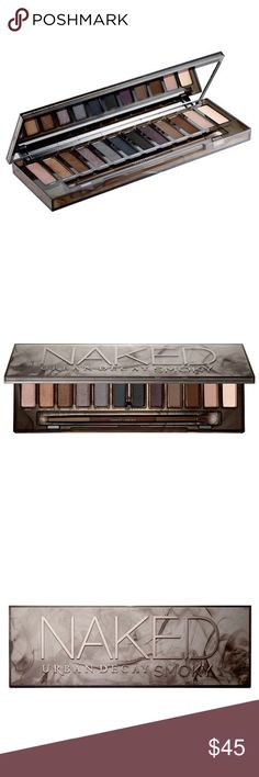 "Urban Decay Naked Smoky Palette Urban Decay's Naked ""Smoky"" Eyeshadow Palette. NIB, never used or swatched. Urban Decay Makeup Eyeshadow"