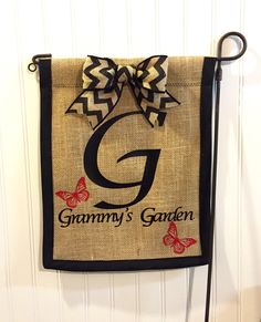 Shop for on Etsy, the place to express your creativity through the buying and selling of handmade and vintage goods. Handmade Crafts, Handmade Items, Burlap Garden Flags, Advertising And Promotion, Outdoor Flags, Turkish Towels, Etsy Store, Machine Embroidery, Baby Gifts