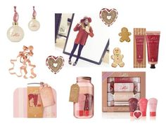 """""""Zoella: Gingerbread Range"""" by fashion2religion ❤ liked on Polyvore featuring beauty, Williams-Sonoma, Wilton, Christmas, Beauty, Zoella and accessories"""