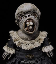 The beauty of Horror in Shain Erins scary dolls - see more at www.shainerin.com #creepy #macabre