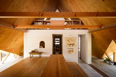 Takeru Shoji Architects has completed Hara House, a Japanese house designed to look like a tent. Niigata, Japan Design, Building Layout, Building A House, Design A Space, House Design, Large Tent, Types Of Architecture, Wood Architecture