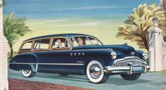 In 1950, Chevrolet, Oldsmobile and Pontiac renounced the use of wood, followed by Plymouth and Chrysler in 1951. Only Ford and Mercury kept the tradition until 1953.