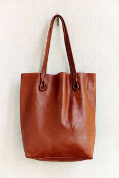 ebff7f8f80e8 BDG Basic Leather Tote Bag - Urban Outfitters Handbags Michael Kors
