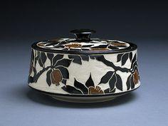 Katherine Hackl Pottery & Tiles: Sgraffitto Pottery