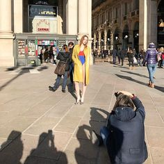 Coming soon! Modelle coraggiose per il prossimo servizio di Grazia.it  #streetstyle #graziaeditorials #milano  via GRAZIA MAGAZINE OFFICIAL INSTAGRAM - Fashion Campaigns  Haute Couture  Advertising  Editorial Photography  Magazine Cover Designs  Supermodels  Runway Models