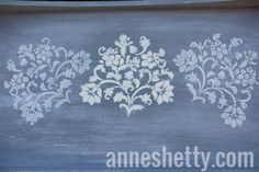Stencilling using Annie Sloan Chalk Paint® Using Chalk Paint, Annie Sloan Chalk Paint, Painted Furniture, Stencils, Projects, Painting, Home Decor, Homemade Home Decor, Paintings
