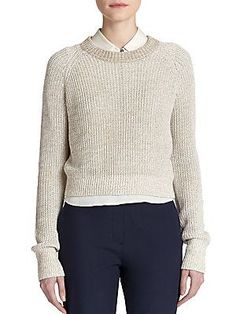Theory Brombly Linen Sweater
