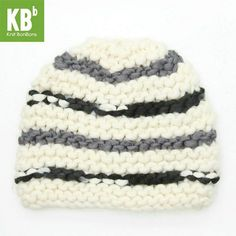 Knitted And Crocheted Hat Beanie at heartful-twist.com
