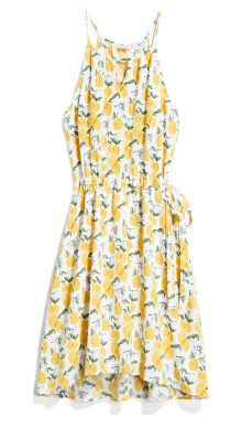 Stitch Fix spring summer 2017. Yellow Floral dress. Ask your stylist for this dress or something similar. Click on the picture to fill out your style profile. Enjoy! #sponsored